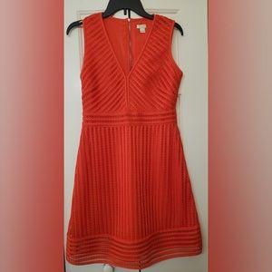 J Crew Sleeveless Crochet Dress 4 NWOT